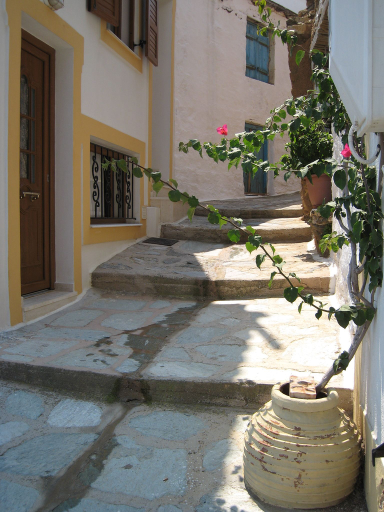 Explore the streets of Skopelos